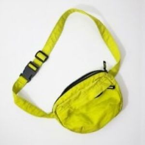 Neon yellow/ green fanny pack